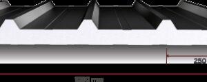 EPS Yalıtımlı 5 Hadveli Çatı Paneli