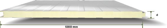 117 PURPIR Yalitimli Standart Mikro Desenli Cephe Paneli