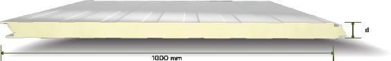 135 PURPIR Yalitimli Gizli Vidali Mikro Desenli Cephe Paneli