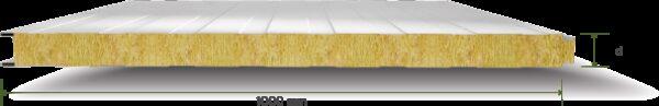 159 Tas Yunu Yalitimli Gizli Vidali Cephe Paneli