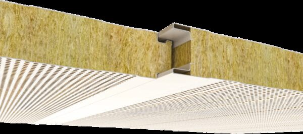 183 Tas Yunu Yalitimli Standart Akustik Cephe Paneli