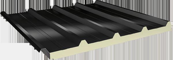PUR/PIR Yalıtımlı 5 Hadveli Çatı Paneli
