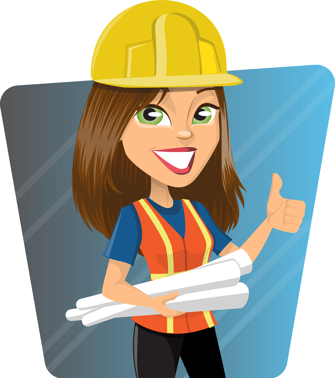 woman, engineer, work
